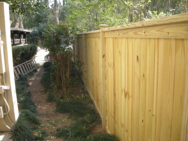 Wood Fence Installation | Install Wood Fences