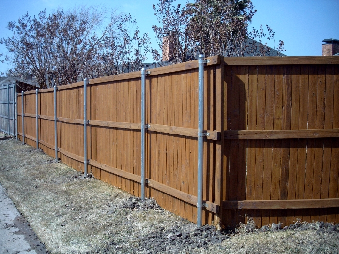 Wooden fence repair cleaning staining as good new llc