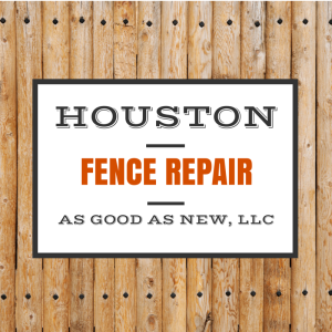 houston fence repair