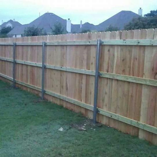 Wooden fence installation dallas fort worth dfw
