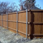 Fence Stained