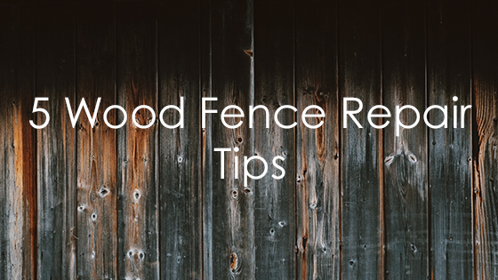 How To Repair Your Wood Fence As Good As New Fence